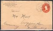 B.11.NOV. 183. POSTWAARDESTUK  VAN DE  U.S.A.  NAAR  DUITSLAND.  1909. - Brieven En Documenten