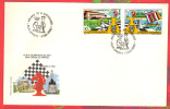 ROUMANIE 1992 Echecs Echec Chess FDC - Scacchi