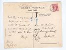 Carte Postale Grand Format TP 74 Grosse Barbe 10 C BRUXELLES - Taxée 3 D Comme Lettre Vers L' IRLANDE  -- B8/459 - 1905 Thick Beard