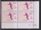 = Coin Daté 1989 Conseil De L'Europe 40ème Anniversaire Allégorie 2f20 Ou 0.31 écu N°100 - Servicio
