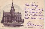 SCHAERBECK = Souvenir De Bruxelles = L'Hôtel De Ville  (Nels  Bxl  S.1  N° 10) 1900 - Schaarbeek - Schaerbeek