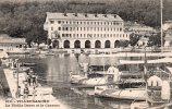 VILLEFRANCHE. La Vieille Darse Et La Caserne. (torpilleurs à Quai Espingole Et Pique, Charrettes, Animation). - Villefranche-sur-Mer