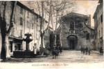 SOLLIES-TOUCAS PLACE DE L'EGLISE ANIMEE 83 VAR - Sollies Pont