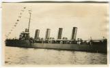 FOTOGRAFIA ORIGINALE NAVE DA GUERRA BACINO SAN MARCO ANNO 1929 VENEZIA TRASPORTI - Schiffe