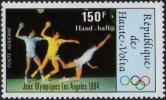 UPPER VOLTA 1984 - OLYMPIC GAMES LOS ANGELES 1984 - HANDBALL - MINT - Pallamano