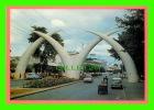 MOMBASA, KENYA - GATEWAY TUSKS - SAPRA STUDIO, NAIROBI - - Kenya