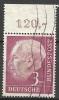 Bund 1954, Michel # 196 Walzendruck - Usato - Usados