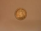 Quart De Dollar 1854 Argent. - Monnaies