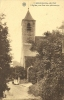 Berchem-Ste-Agatha L'église,vue D'un Coin Pittoresque Gelopen Kaart - Berchem-Ste-Agathe - St-Agatha-Berchem