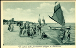 GIULIANOVA SPIAGGIA FLORIDISSIMA 1936 ANIMATA - Teramo