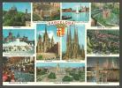 BARCELONA  -  MULTIVISTAS  -  CYP  -  CIRCULADA , 1975 - Barcelona