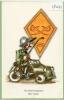 Hue'Cocotte  Armée Suisse  Circulé 1975 - Humour