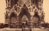 Reims - La Cathedrale Avant La Guerre, Le Grand Portail, Nicht Gelaufen - Reims