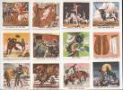 Koninklijke Beschuit- En Koekfabrieken Firma J. H. Haust & Zonen N.V. Amsterdam - Holland. Het Leven Van De Cowboys. - Reclame