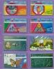 Israel  Lot  --  Feuillet  * B *  Indivisible  Avec  Ses  8  Télécartes  De  L´Etat  Hébreu. - Israël