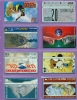 Israel  Lot  --  Feuillet  * F *  Indivisible  Avec  Ses  8  Télécartes  De  L´Etat  Hébreu. - Israel