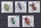 Bund Mi.Nr. 1666-70 O  Gestempelt 1993 - Used Stamps