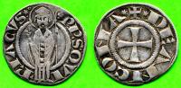 [DO] ANCONA - Repubblica Sec. XII.XIV GROSSO (Argento / Argent) - Monnaies Féodales