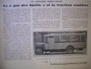 ARTICLE-REGIONNALISME - Autocar Panhard - Gazogène - 1928 - - Historical Documents