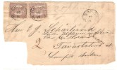 1866? FINLAND OLD LETTER FRAGMENT FRANKED WITH 2 PIECES OF 5P - Briefe U. Dokumente