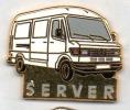 Auto Mercédés Server , En Zamac - Mercedes