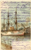 Illustrateur Stoewer : Voilier Au Port 1904 - Stoewer, Willy