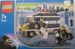 Lego 7033 Attaque Sur Le Transport De Fonds Neuf ** Encore Dans Boîte Voir Scan - Lego System
