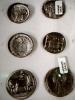 CRD FOTOGRAFICA  MONETE HELLAS GRECIA  GRECE MONEY N1960  DL170 - Monete (rappresentazioni)
