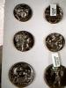 CRD FOTOGRAFICA  MONETE HELLAS GRECIA  GRECE MONEY N1960  DL171 - Monete (rappresentazioni)