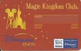 Frankreich: Member Card - Disneyland Resort Paris - Magic Kingdom Club - Andere Sammlungen