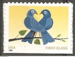 USA. Scott # 3976,4029 MNH From  Booklet. Love Birds.  2006 - Carnet (Carné)