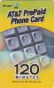 ALASKA(USA) - Wal Mart/AT&T Magnetic Prepaid Card 120 Min, Mint - Altri – America