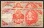 31 URUGUAY -1979  Billetes Emitidos  Por El Bco Central Por  10.000.00 Pesos Serie  ByC  (Ver Foto) - Uruguay