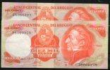 32 URUGUAY -1979  Billetes Emitidos  Por El Bco Central Por  10.000.00 Pesos Serie  B  (Ver Foto) - Uruguay