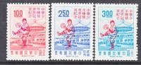 Rep. Of China 1723-5  *  LITTLE LEAGUE BASEBALL  VICTORY - 1945-... Republic Of China