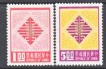 Rep. Of China 2028-9   *  NEW YEARS  SNAKE - 1945-... Republic Of China