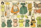 Découpage De Poupées: Shirley Temple. Num.1 (32 X 21 Cms) (Ref. 106681) - Vieux Papiers