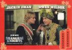 Postcard Film Movie 'Shanghai Knights' Jackie Chan Owen Wilson - Plakate Auf Karten