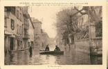 CPA 84 AVIGNON INONDATIONS 1935 RUE  ANNABELLE - Inondations