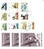 ASCENSION - 1976 - 3 ENVELOPPES FDC SERIE COMPLETE 16 VALEURS - THEME : OISEAUX - FORTE COTE CATALOGUE - Collections, Lots & Séries