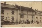 Carte Postale Ancienne Ceyzérieu - Place De La Mairie Et Le Chalet De L´Hôtel Toccanier - Francia