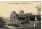 Carte Postale Ancienne Conzieu - L'Entrée. L'Eglise Et Le Monument Aux Morts - France