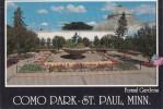 ZS9884 Formal Garden Como Park St Papul Minn Used Perfect Shape - St Paul
