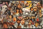 The Rolling Stones-américan Tour 1972-bonjour De Mojacar-verseau-cpm - Musica E Musicisti
