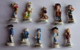 SERIE COMPLETE DE 10 FEVES LUCKY LUKE 2011