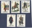 España  -  1978  -  Edifil - 2451 / 55 ( Usado ) - 1971-80 Oblitérés