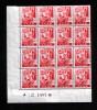 Saarland  Mi. Nr. 219 Postfrisch /** Mit Plattenfehler 219 III - Ohne Zuordnung