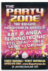 """Carte Boomerang. Publicité Pour  """"The Party Zone"""". Forest National - Manifestations"""
