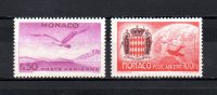 Mónaco   1941   .-   Y&T Nº   6/7   Aéreos   ( C/charniere ) - Aéreo