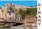DINANT - La Collégiale, Le Pont Et La Citadelle - Croisères Mosanes En Bateaux - Dinant